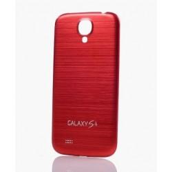Samsung Galaxy S4 i9500 - The rear battery cover - Aluminium - Red