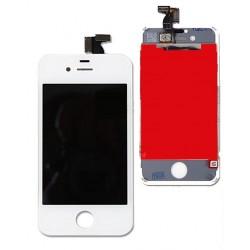 Apple iPhone 4 - Bílý LCD displej + dotyková vrstva, dotykové sklo, dotyková deska
