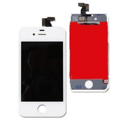 Apple iPhone 4 - white LCD screen + touch layer touch glass touch panel