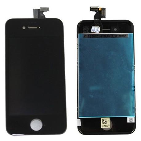 Apple iPhone 4s - Černý LCD displej + dotyková vrstva, dotykové sklo, dotyková deska