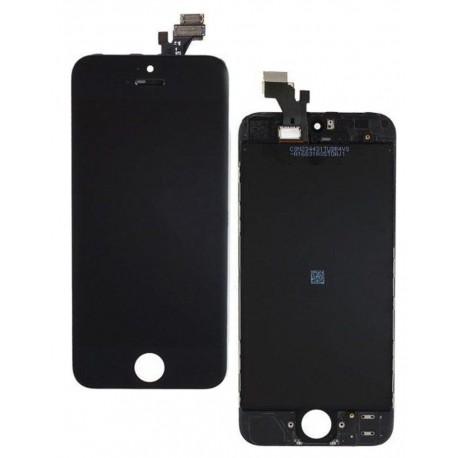 Apple iPhone 5S - Černý LCD displej + dotyková vrstva, dotykové sklo, dotyková deska