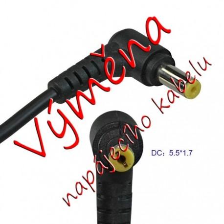 Oprava (výměna) kabelu k adaptéru Acer