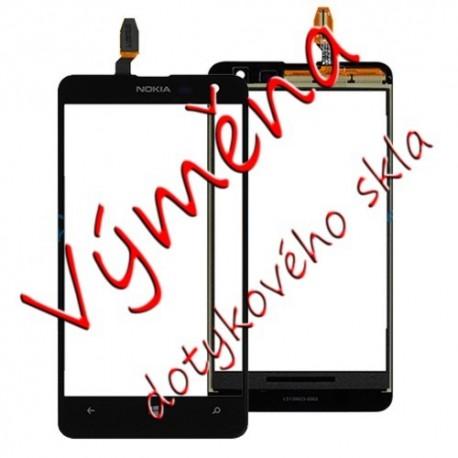 Výměna dotykové vrstvy Nokia Lumia 625