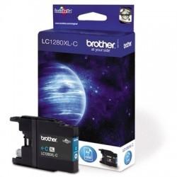 Brother LC-1280XL Cyan - Modrá originální cartridge
