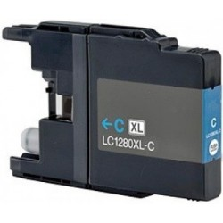 Brother LC-1280XL Cyan - Blue compatible cartridges - Bulk Packaging