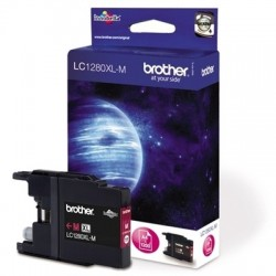 Cartridge Brother LC-1280XL Magenta - Červená originální cartridge