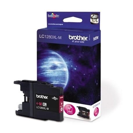 Cartridge Brother LC-1280XL Magenta - Červená originální cartridge