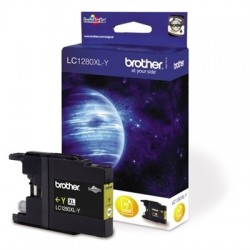 Brother LC-1280XL Yellow - Yellow original cartridge - Bulk Packaging