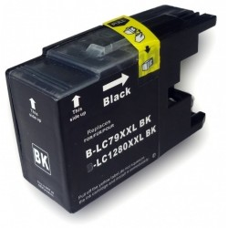 Brother LC-1280XL Black - Black compatible cartridges - Bulk Packaging