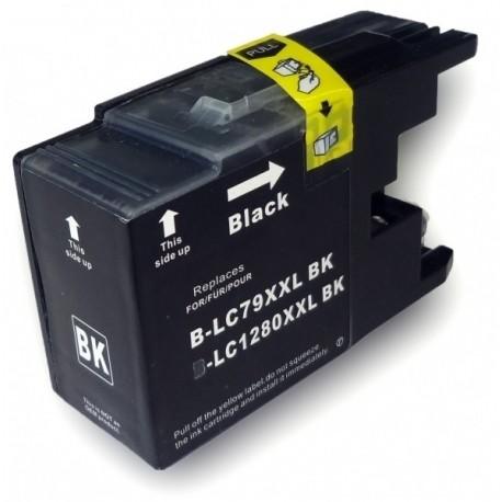 Brother LC-1280XXL Black - Černá kompatibilní cartridge