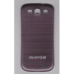 Samsung Galaxy S3 I9300 - The rear battery cover - Aluminum - Coffee