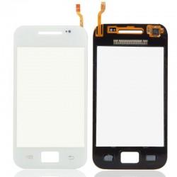 Samsung Galaxy Ace S5830i - Bílá dotyková vrstva, dotykové sklo, dotyková deska + flex - OEM
