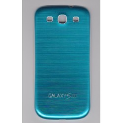 Samsung Galaxy S3 I9300 - The rear battery cover - Aluminium - Light Blue