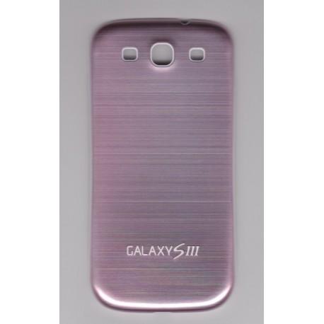 Samsung Galaxy S3 i9300 - Zadní kryt baterie - Hliník - Světle růžový