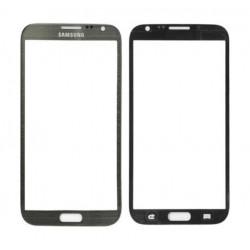 Samsung Galaxy Note 2 N7100 - Šedá dotyková vrstva, dotykové sklo, dotyková deska - OEM
