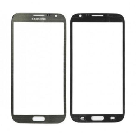 Samsung Galaxy Note 2 N7100 - Šedá dotyková vrstva, dotykové sklo, dotyková deska
