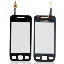 Samsung S5250 - Černá dotyková vrstva, dotykové sklo, dotyková deska + flex - OEM