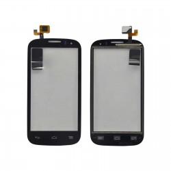 Alcatel One Touch POP C5 5036 OT-5036D 5036E - Černá dotyková vrstva, dotykové sklo, dotyková deska + flex