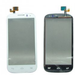 Alcatel One Touch POP C5 5036 OT-5036D 5036 - White touch layer touch glass touch panel flex