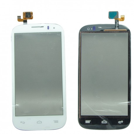 Alcatel One Touch POP C5 5036 OT-5036D 5036E - Bílá dotyková vrstva, dotykové sklo, dotyková deska + flex
