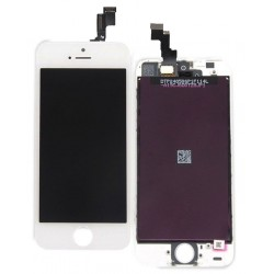 Apple iPhone 5S - White LCD Display + Touch layer touch glass touch panel
