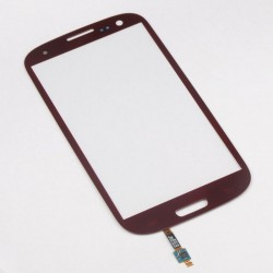 Samsung Galaxy S3 I9300 - Red touch layer (glass plate, sensor buttons)