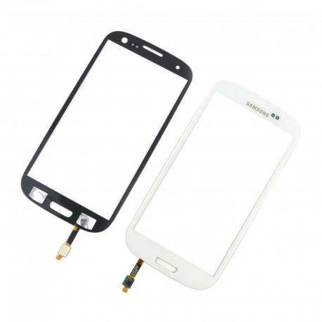 Samsung Galaxy S3 i9300 - Bílá dotyková vrstva, dotykové sklo, dotyková deska + senzorová tlačítka