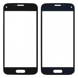 Samsung Galaxy Mini S5 SM G800 - Dark blue touch layer touch glass touch panel
