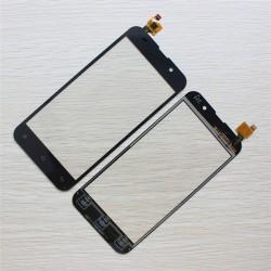 Nokia Lumia 520 - Čierna dotyková vrstva, dotykové sklo, dotyková doska + flex