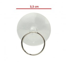 Suction cup on display, touch the glass - large 3,5 cm