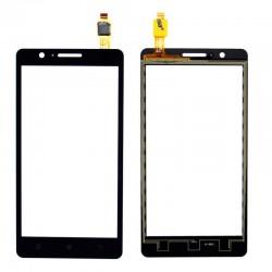 Lenovo A536 - Čierna dotyková vrstva, dotykové sklo, dotyková doska + flex