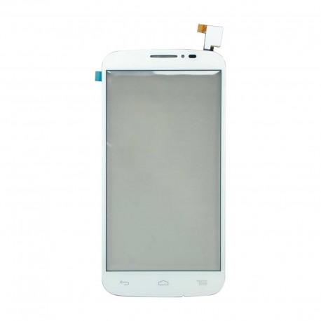Alcatel One Touch POP C7 7040 OT-7040D 7040A - Bílá dotyková vrstva, dotykové sklo, dotyková deska + flex