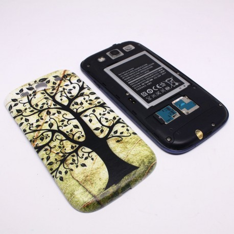 Samsung Galaxy S3 I9300 - Tree - The rear battery cover