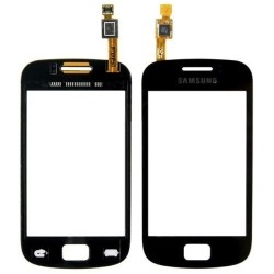 Samsung Galaxy mini 2 GT-S6500 - Čierna dotyková vrstva, dotykové sklo, dotyková doska + flex