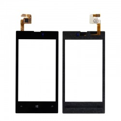 Nokia Lumia 520 525 526 - Black touch screen, touch glass, touch screen + flex (digitizer)