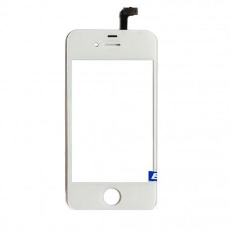 Apple iPhone 4 4G - Bílá dotyková vrstva, dotykové sklo, dotyková deska + flex