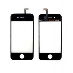 Apple iPhone 4S - Čierna dotyková vrstva, dotykové sklo, dotyková doska + flex