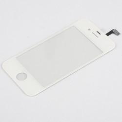 Apple iPhone 4S - Biela dotyková vrstva, dotykové sklo, dotyková doska + flex