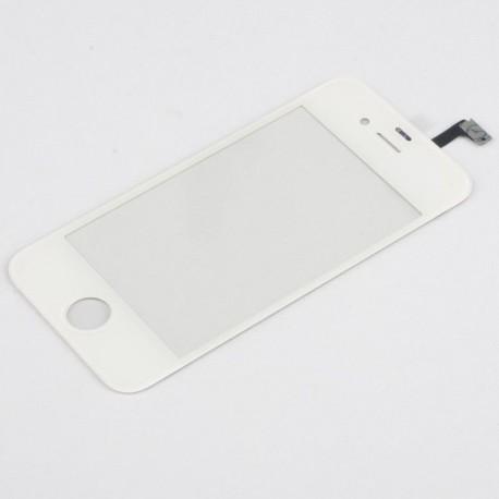 Apple iPhone 4S - Bílá dotyková vrstva, dotykové sklo, dotyková deska + flex