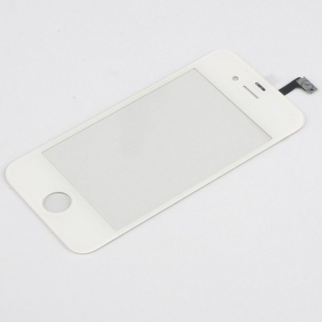 Apple iPhone 4S - White touch layer touch glass touch panel + flex