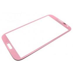 Samsung Galaxy Note 2 N7100 - Růžová dotyková vrstva, dotykové sklo, dotyková deska - OEM