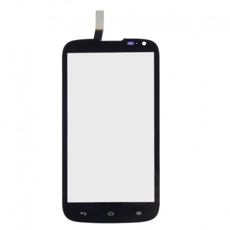 Huawei G610 G610c G610s C8815 - Black touch layer touch glass touch panel + flex
