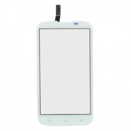 Huawei G610 G610c G610s C8815 - Bílá dotyková vrstva, dotykové sklo, dotyková deska + flex