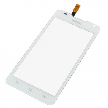 Huawei Ascend Y530 C8813 - White touch layer touch glass touch panel + flex