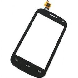 Alcatel One Touch POP C3 Dual 4033 OT-4033E 4033A 4033D 4033X - Čierna dotyková vrstva, dotykové sklo, dotyková doska + flex