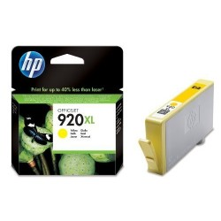 HP 920XL žltá CD974AE - originálna cartridge
