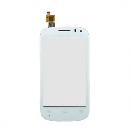 Alcatel One Touch POP C3 Dual 4033 OT-4033E 4033A 4033D 4033X - Bílá dotyková vrstva, dotykové sklo, dotyková deska + flex