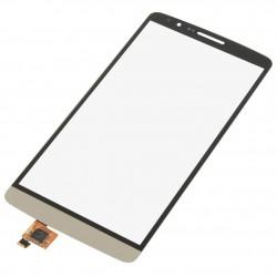 LG D850 D855 D857 D859 G3 - Zlatá dotyková vrstva, dotykové sklo, dotyková deska + flex - OEM
