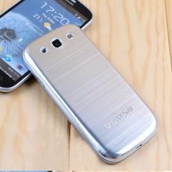 Samsung Galaxy S3 i9300 - Zadní kryt baterie - Hliník - Stříbrný