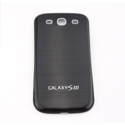 Samsung Galaxy S3 I9300 - The rear battery cover - Aluminium - Black